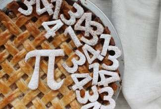 Pi day via @kingarthurflour