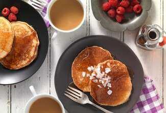 Quinoa Pancakes via @kingarthurflour