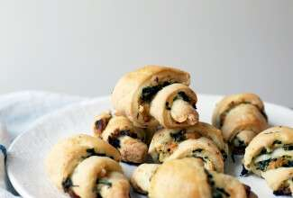 Savory rugelach via @kingarthurflour