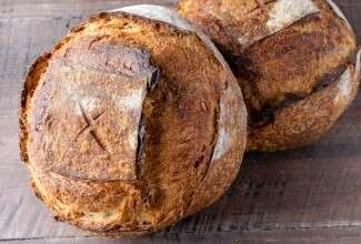 Shaping a Boule via @kingarthurflour