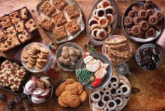 a cookie swap via@kingarthurflour