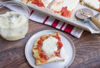 Grain-Free Almond Flour Pizza Crust