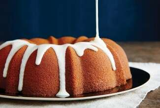 bundt cake bliss via@kingarthurflour