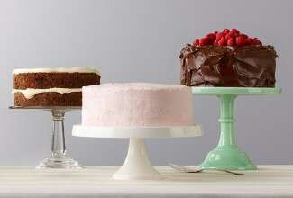 Classic cakes with frostings that dress to impress via @kingarthurflour