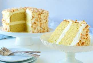 coconut-flour-cake via @kingarthurflour.com