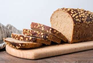 Multigrain Sourdough Sandwich Bread via @kingarthurflour