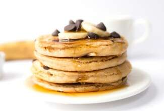 Simply Perfect Gluten-Free Pancakes via @kingarthurflour