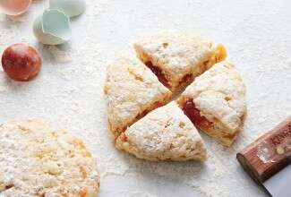 sweet and savory scones hero