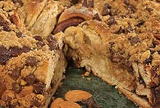 Chocolate Almond Coffeecake