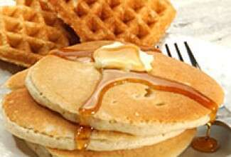 Gluten-Free Sorghum Waffles and Pancakes