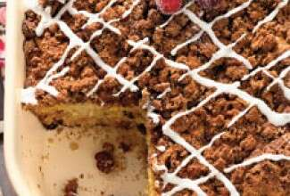Cranberry-Orange Coffeecake