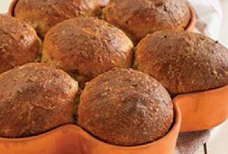 Malted Whole Grain Rolls