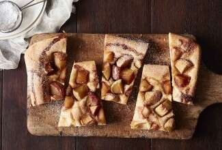 Cinnamon-Apple Flatbread