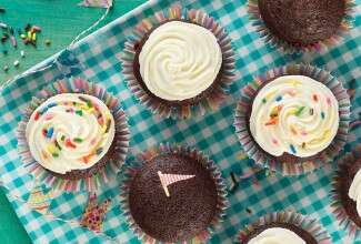 Bake Sale Fudge Cupcakes