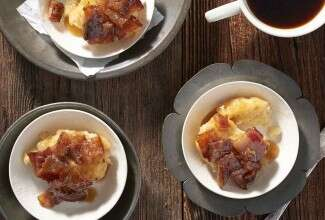 Maple-Bacon Biscuit Bake