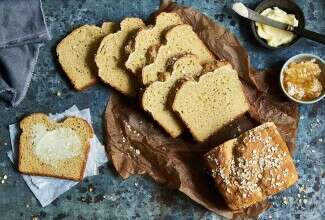 Gluten-Free Honey-Oat Sandwich Bread