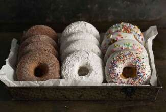 Baked Doughnuts Three Ways