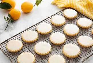 Lemon Sablé Cookies
