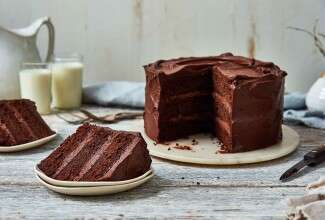 Self-Rising Chocolate Cake