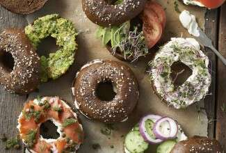 Pumpernickel Bagels