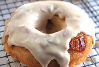 Maple-Glazed Bacon Doughnuts