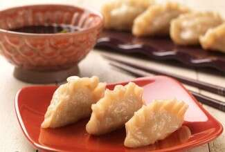 Pork and Shrimp Asian Dumplings