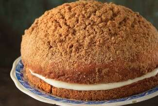 Cream-Filled Coffeecake