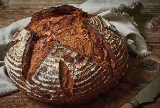 Sourdough Pumpernickel Bread