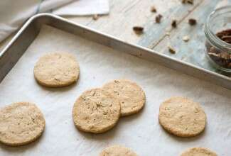 Sprouted Wheat Icebox Cookies
