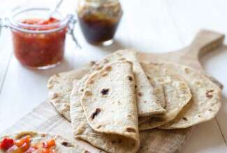 Whole Grain Flatbread (Chapati)