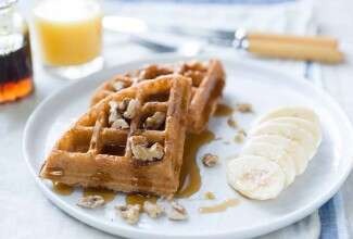 Sprouted Wheat Waffles