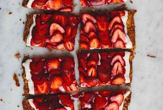 The Simplest Strawberry Tart