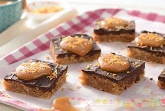 Grand Prize Coconut-Caramel Bars