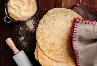 Thin Cornmeal Tortillas
