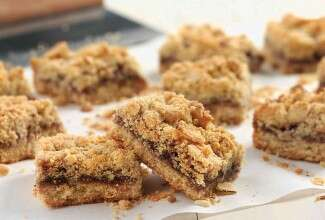 Gluten-Free Amaranth-Almond Bars