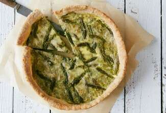 Spring Tonic Quiche