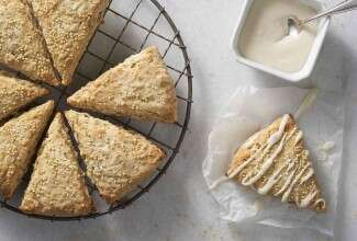 Maple Millet Scones