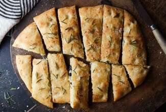 Cheese and Herb Stuffed Focaccia