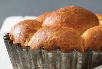 Ginger-Honey Brioche