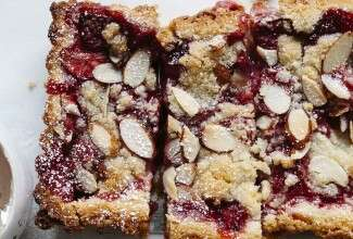 Gluten-Free Strawberry-Almond Tart