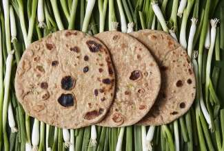 Buttermilk Scallion Flatbreads