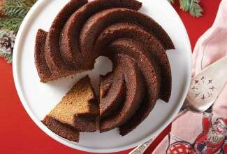Cider-Gingerbread Bundt Cake