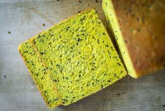 Golden Spiced Pullman Loaf