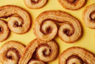 Malted Milk Palmiers