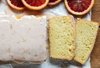Blood Orange Witbier Cake