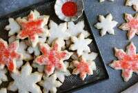 Gluten-Free Holiday Butter Cookies