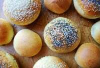 Brioche Buns via @kingarthurflour