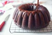 Chocolate Fudge Bundt Cake via @kingarthurflour