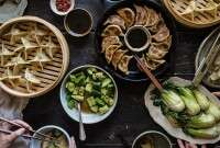 Shaping Asian Dumplings via @kingarthurflour