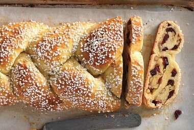 Cranberry Orange Braided Bread